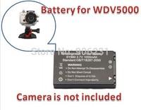 Free Shipping!!Original 3.7V Li-ion 1000mAh Battery SY888 for WDV5000 Sport Camera Brand New