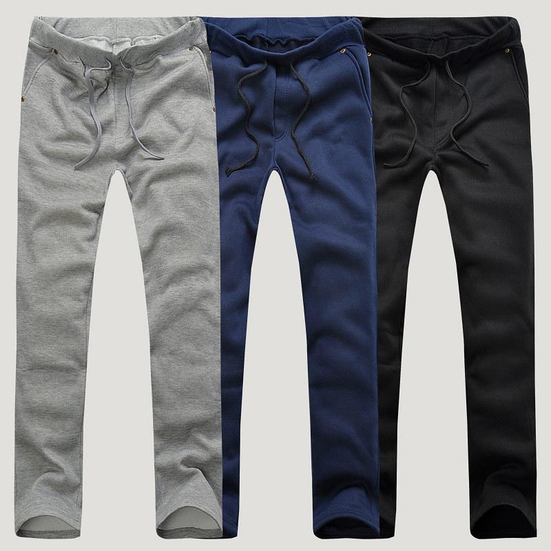 Весна новый спортивный случайный мужские брюки