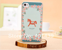 New 2014 high quality cartoon cute case for iphone 4/4s  Eiffel tower mobile phone cover case free shipping