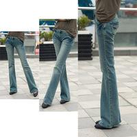 Large Yard France Slim Elasticity Boot cut Jeans Mm Women I21