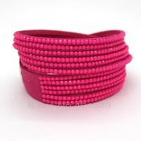 Free Shipping! Rose Female Charm Bracelet, The European Fashion Leather Bracelet Multilayer Bracelet