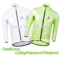 New Arrived!!! Castelli 2014 Cycling Waterproof Windproof dust coat wind coat bike jacket Bicycle raincoat windbreak Raincoat