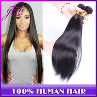 5A Mocha Straight Hair Products Peruvian Virgin Hair Straight 3pcs & 4pcs lot Peruvian Queen Straight Hair Extension Color 1b