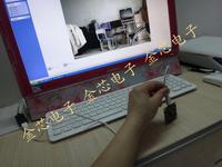mail free 2pcs/pack USB Camera CMOS 1204 43mm square, sensor  OV5640(1/4'')USB2.0  color, computer camera module