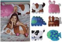 Children Pets Pillowcase kids doomagic pillow case,pillow cover,pillowcase 6 Animal styles Pillows covers 1set/lot