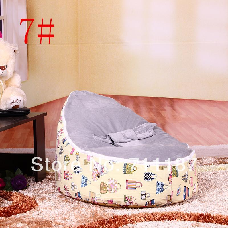 Внутренний кресло-качалка детская диван стул, дешевые дети мешок фасоли распродажа, высокое качество детские диван крышка