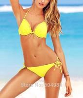 Women's Beach wear women push up swimwear Women's bathing swimsuit bikini swimsuit