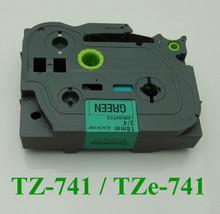 Compatible TZ741_TZe 741 laminated label tapes p touch