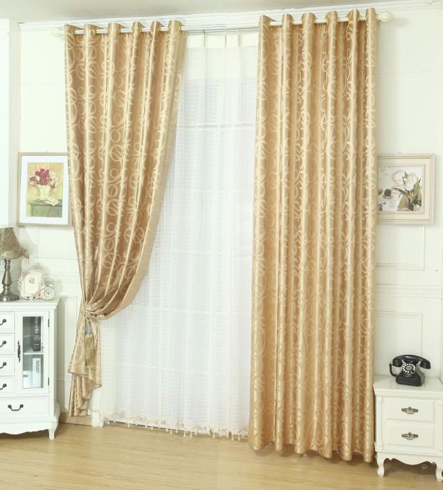 Achetez en gros rideaux dor s en ligne des grossistes for Rideaux dores salon