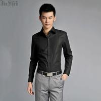Male shirt male long-sleeve shirt spring business casual formal fashion male slim men's clothing