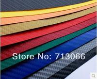 free shipping 127cm*100cm Car Styling 3D Car Film Carbon Fiber Vinyl Film Option Car Sticker High Quality 15 Colors low price