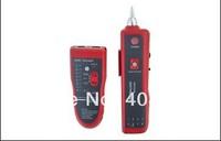 Free Shipping NF-806R  Network wire cable detector Tone Probe Kit RJ45 Port >=3km LAN Cable Tester RJ45 RJ11