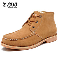 free shipping fashion men's winter boots high quality fur upper warm fur inside ankle martin shoes
