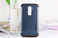 Free shipping High Quality armor Super protection silicion Cover Case for LG G2