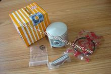 TAIWAN SEE JOG JOG70 47mm piston ring kit / set ( 10mm piston pin ) for Minarelli 1E40QMB JOG50 3KJ 47mm 70CC big bore kit(China (Mainland))