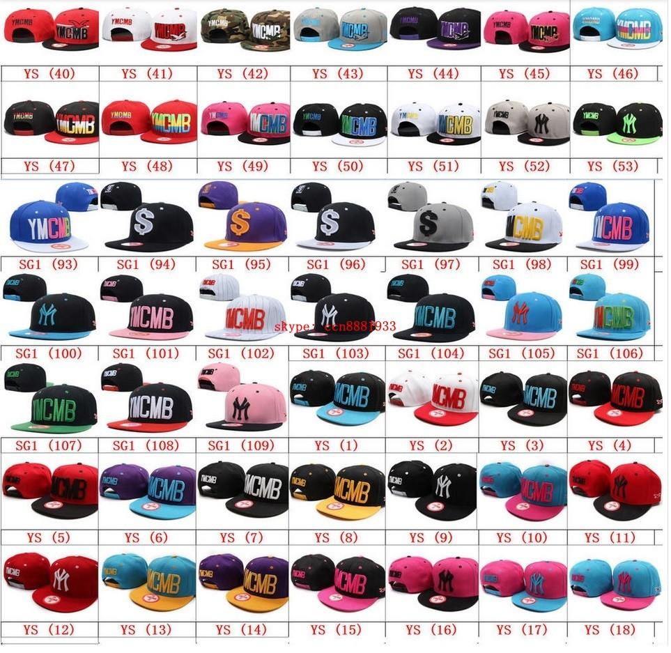 Cheap baseball cap men YMCMB Snapback caps Y76 orange / purple YM hat most popular adjustable hip hop hats(China (Mainland))
