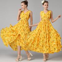 Party Dresses Top Fasion Vestido De Festa 2014 Summer Classic Staphyloccus Peach Placketing Ruffle Hem Tube One-piece Dress