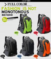 Spring 2014 sports backpacks school bag men's travel bags waterproof 45L Hiking bags 5 colors women shoulder bags freeshipping