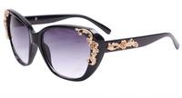 2014 new high-end luxury Golden Rose Queen Baroque star sunglasses sunglasses