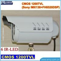 "1/3"" CMOS 1200tvl high resolution cctv camera 1200TVL Analog CCTV IR Bullet Camera"