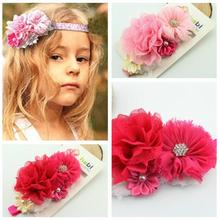 chiffon flower headband price