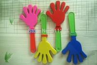 Wholesale 19cm plastic clapping tools, plastic hand clap.