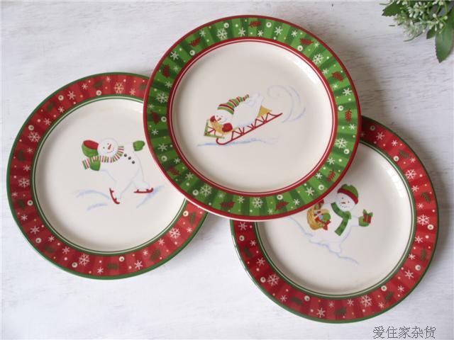 Shop popular christmas dishes sale from china aliexpress - Set de vaisselle de noel ...