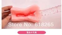 2014   high quality medical silica gel Male sex toys, high simulation girls vagina  free  shipping