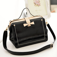 Free shipping new korean style hot sale 2014 fashion handbag women handbag and shoulder bag PU bag vintage bag casual bag