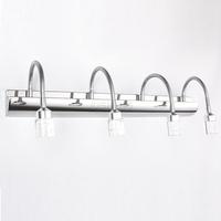 Free shipping 620mm 12W LED Mirror Light for Hotel Bathroom/Washroom Wall Spot Light 220V Waterproof crystal led wall light