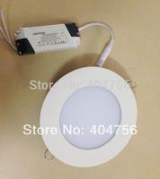 12W Round LED Panel Light  AC85-265V 1150lm 50000Hrs 2835SMD