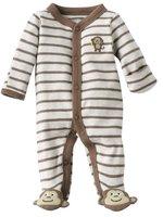 Brand Carter's Baby boy's newborn Striped monkey jumpsuit retail bebe clothing