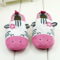 Spring 2014 Cartoon Cotton Baby First Walkers soft sole boy/Girl Shoes kids/Infant/Newborn shoes antislip R33