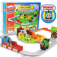 Free shipping new 2014 baby toy Electric thomas train track small train set 1 child educational toys outdoor fun & sports toys