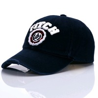 classics embroidery worn-out lovers baseball cap Italian style hat 2color 1pcs free shipping