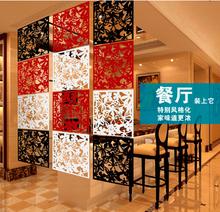 Fashion home cutout modern brief hanging screen compartmentation living room entranceway curtain 4(China (Mainland))