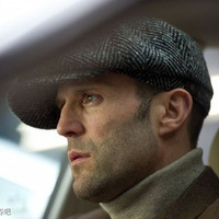 2014 Autumn and winter hat male check casual wool beret cap new  men  hats  handsome man hat drop shipping free