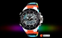 New arrival 2014 fashion luxury waterproof watch original brand SKMEI military japan movt quartz sport watch