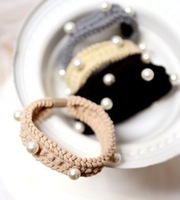 New 2014  Practical High Elastic Pearl Hair Accessories C45