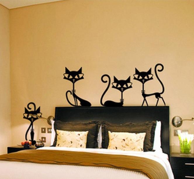 Gatos habitaciones compra lotes baratos de gatos - Apliques pared dormitorio ...