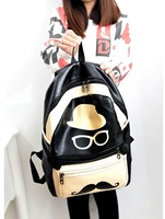 2014 female backpack canvas backpack preppy style student school bag travel