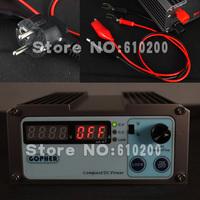 Freeshipping NEW precision Compact Digital Adjustable DC Power Supply OVP/OCP/OTP low power 16V10A 110V-230V 0.01V/0.01A EU