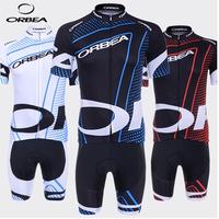 New Hot 2014 ORBEA Team Cycling Jersey Short Sleeve and bicicleta bib  Shorts maillot ciclismo clothing set CT041