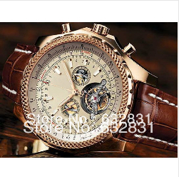 hot free shipping brand new Skeleton sport Luxury Fashion Wristwatche men watch sports Automatic Stainless steel Men's Watches