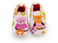 100% cotton winter Autumn Soft bottom Infant shoe owl design First Walkers Princess Baby girls Toddler shoes prewalker-3pairs