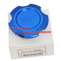 Blue Color Aluminum Engine Oil Filter Cap Subaru Oil Cap