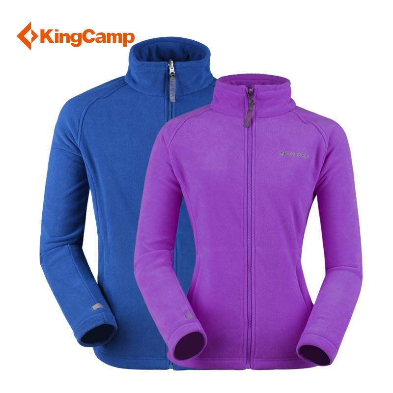 Kingcamp fleece outdoor clothing autumn and winter lovers design thermal fleece clothing kwa596-kwa597(China (Mainland))