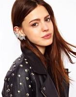 Free Shipping New Fashion LadiesTriangle Ear Cuff  Environmental Clip Earrings Wholesale 19pcs/lot