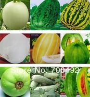 wholesale 450seeds 9 kinds melon seeds Japanese sweet treasure, fallen petal sweet, sweet tooth, the gold, fruit melon seeds