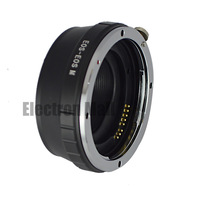 For EOS-EOS M Metal Electronic AF Lens Adapter Ring for Canon EF EF-S Lens to EOS M, Drop ship & Wholesale welcomed!!
